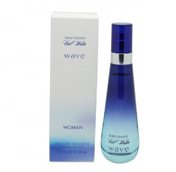 Cool Water Wave Perfume by Davidoff 1.7oz Eau De Toilette spray for women