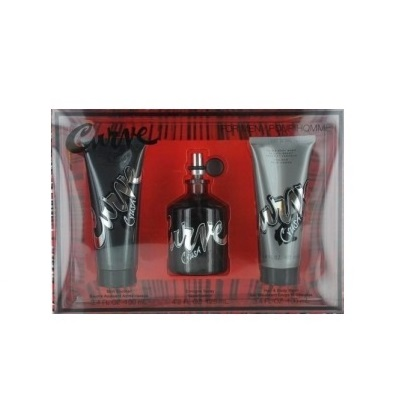 Curve Crush Gift Set for men - 4.2oz cologne spray, 3.4oz skin soother and 3.4oz hair & body wash