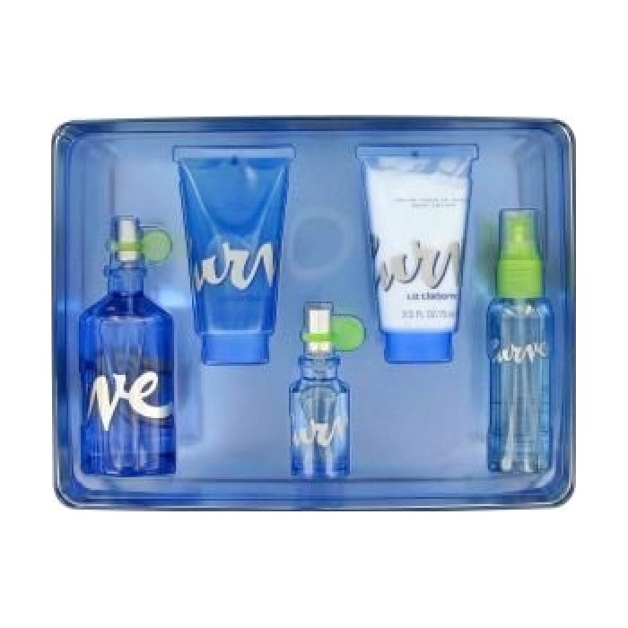 Curve Perfume for Women 5 Pieces Gift Sets