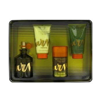 Curve Men Gift Set - 4.2oz EDT spray, 2.6oz Deodorant Stick, 2.5oz Hair & Body Wash, & 2.5oz Skin Soother
