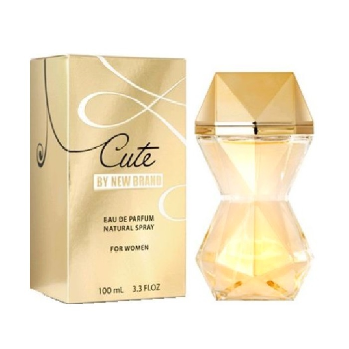 Cute Perfume by New Brand 3.3oz Eau De Parfum spray for women