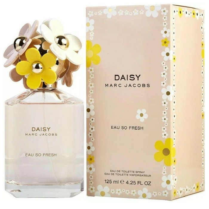 Daisy Eau So Fresh Perfume by Marc Jacobs 4.2oz Eau De Toilette Spray for women