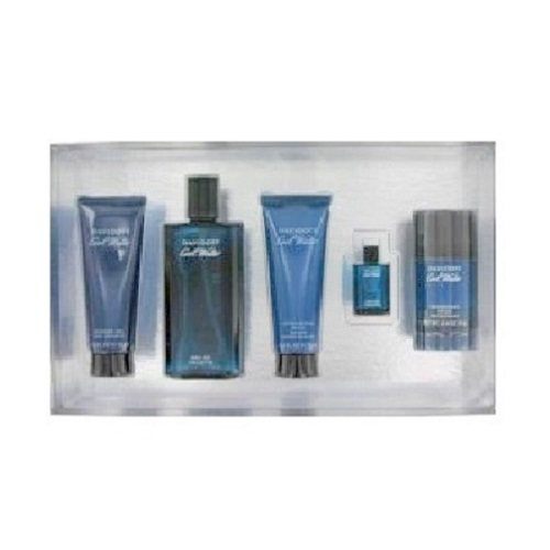 Cool Water 5 Pieces Gift Set by Davidoff for Men