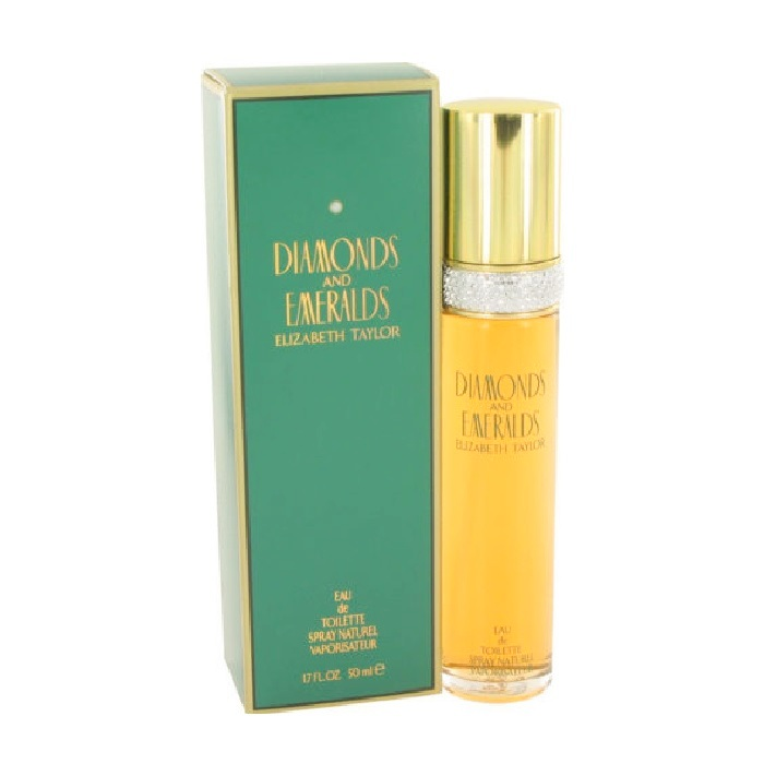 Diamonds and Emeralds Perfume by Elizabeth 1.7oz Eau De Toilette spray for Women