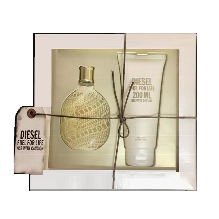 Diesel Fuel For Life Perfume Gift Set for women - 2.5oz Eau De Parfum spray, and 6.7oz Body Lotion