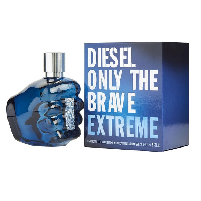 Diesel Only The Brave Extreme Cologne by Diesel 2.5oz Eau De Toilette spray for men
