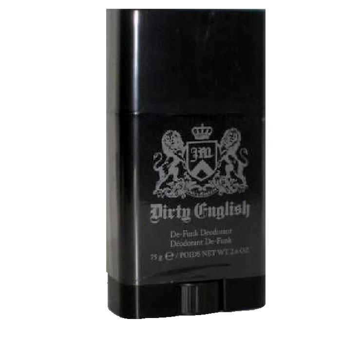 Dirty English Deodorant stick by Juicy Couture 2.6oz for Men