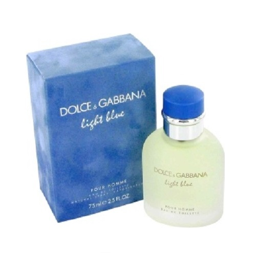 Dolce & Gabbana Light Blue Cologne by Dolce and Gabbana 2.5oz Eau De Toilette spray for men