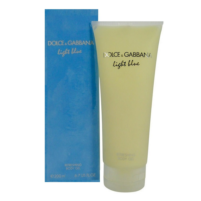 Light Blue Refreshing Body Gel by Dolce & Gabbana 6.7oz for women