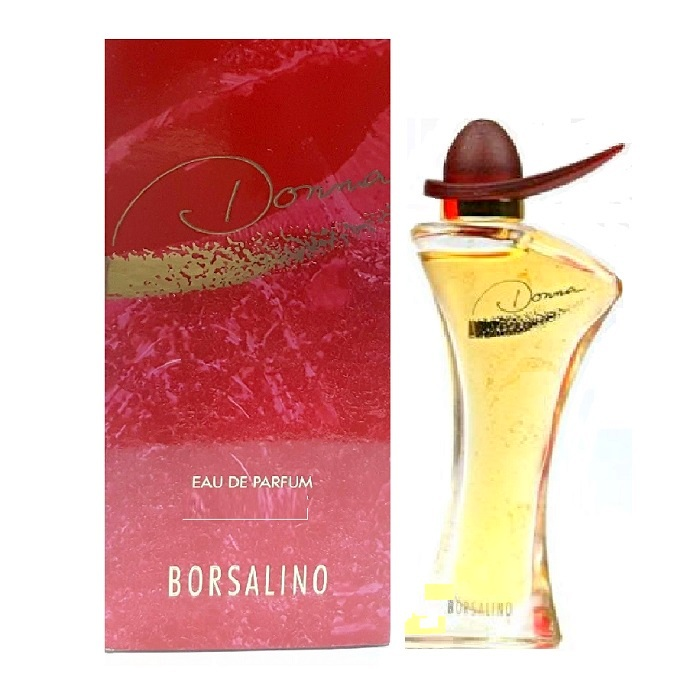 Donna Borsalino Mini Perfume by Borsalino 0.15oz / 4.5ml Eau De Parfum for Women