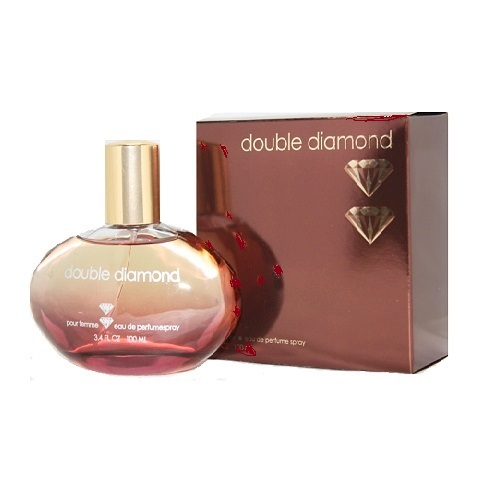 Double Diamond Perfume by Parfum Paris 3.4oz Eau De Parfum spray for Women