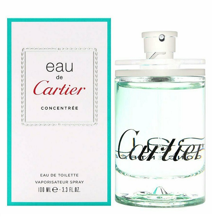 Eau De Cartier Concentree Perfume by Cartier 3.3oz Eau De Toilette Spray (Unisex)
