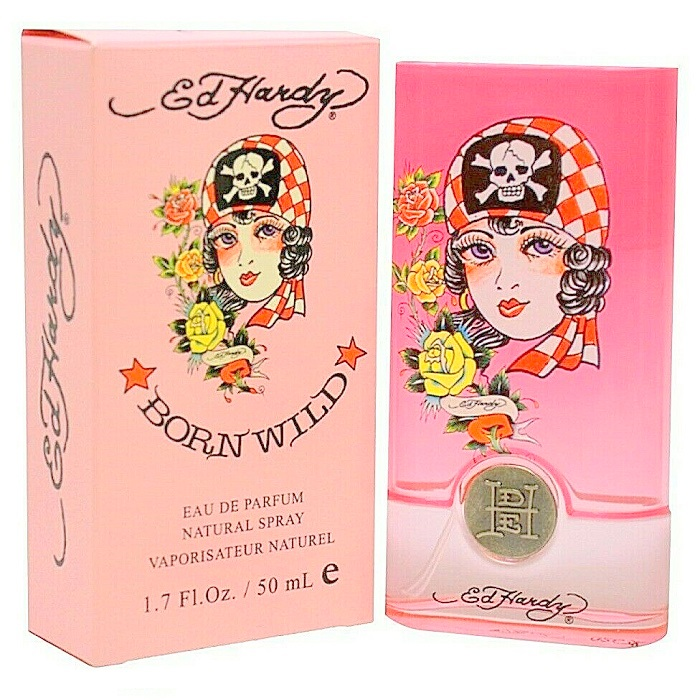 Ed Hardy Born Wild Perfume by Christian Audigier 1.7oz Eau De Parfum Spray for women