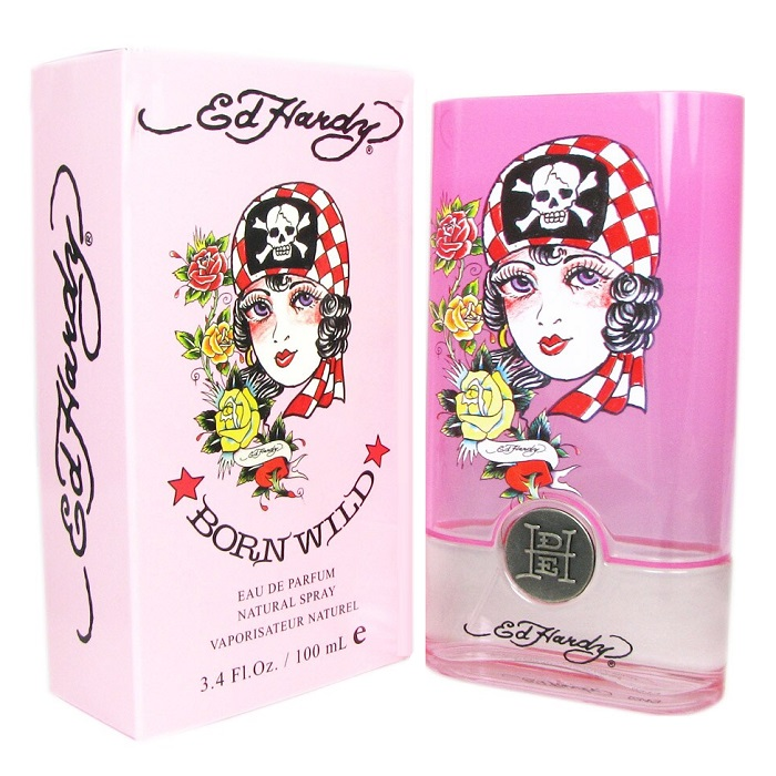 Ed Hardy Born Wild Perfume by Christian Audigier 3.4oz Eau De Parfum Spray for women