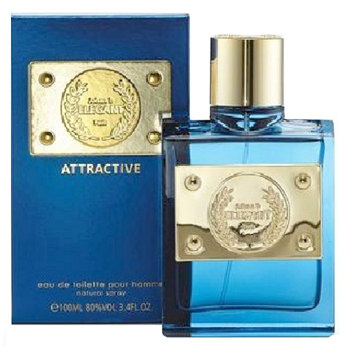 Elegant Attractive Cologne by Johan B. 3.4oz Eau De Toilette spray for men