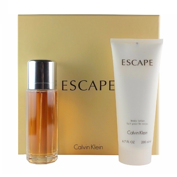 Escape Perfume Gift Set for women - 3.4oz Eau De Parfum spray, & 6.7oz Body Lotion