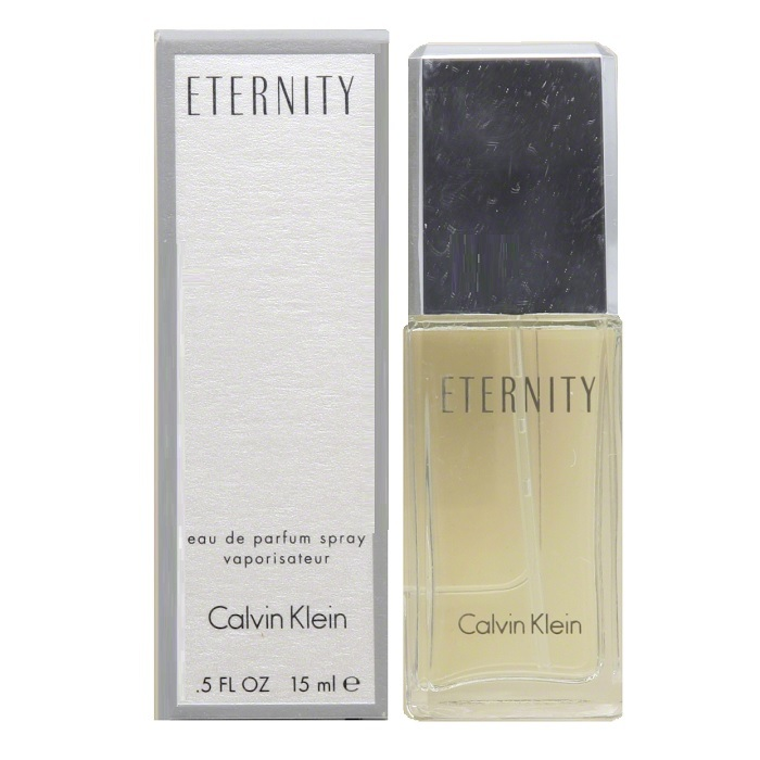 Eternity Mini Perfume by Calvin Klein 0.5oz Eau De Parfum spray for women