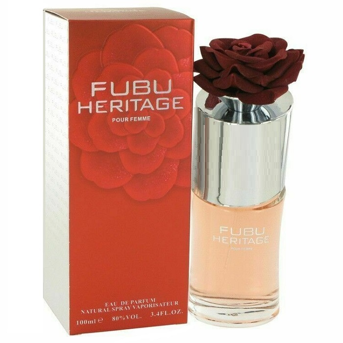 Fubu Heritage Perfume by Fubu 3.4oz Eau De Parfum Spray for women