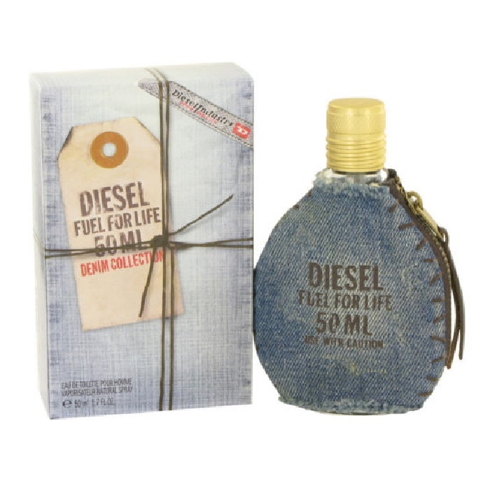 Fuel For Life Denim Perfume by Diesel 1.7oz Eau De Toilette spray (Unisex)
