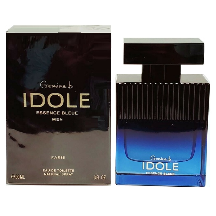 Gemina B Idole Essence Bleue Cologne by Gemina B Geparlys 3.0oz Eau De Toilette Spray for men