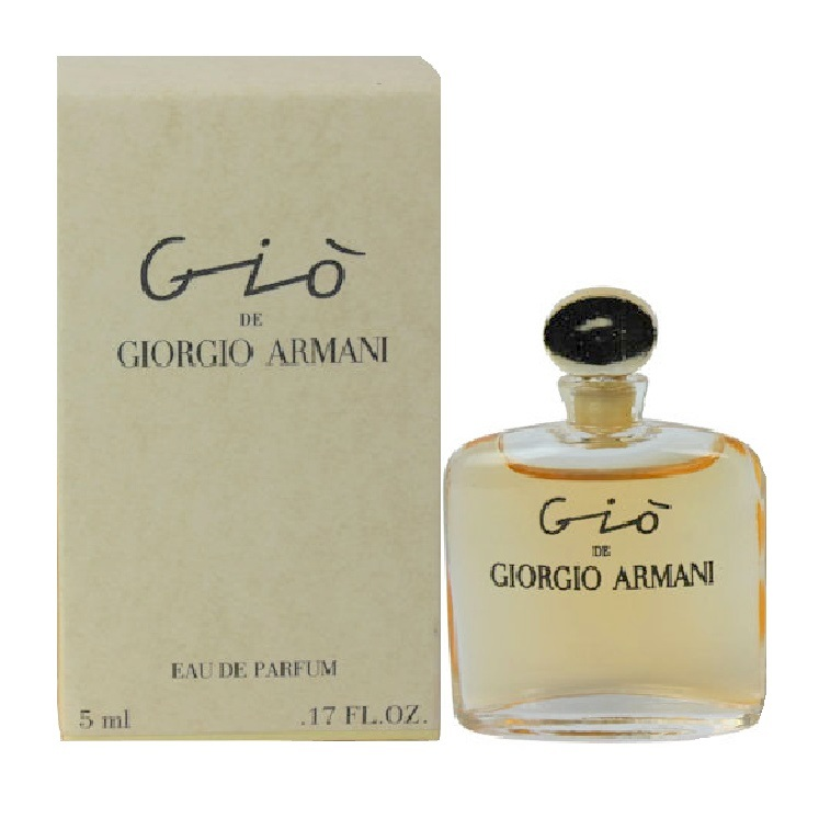 Gio Mini Perfume by Giorgio Armani 0.17oz / 5ml Eau De Parfum for women