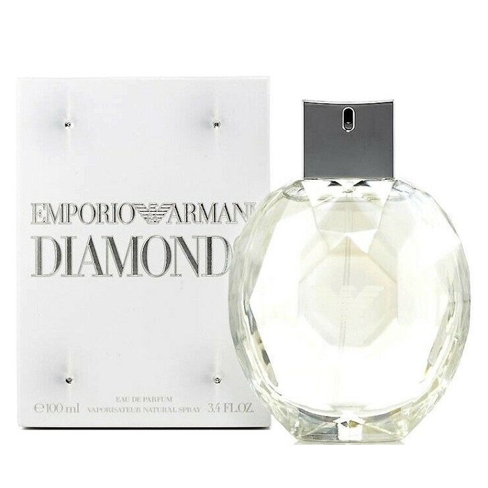 Emporio Armani Diamonds Perfume by Giorgio Armani 3.4oz Eau De Parfum Spray for women