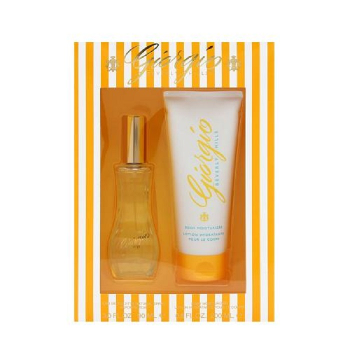 Giorgio Perfume Gift Set for women - 3.0oz Eau De Toilette spray & 6.7oz Body Moisturizer