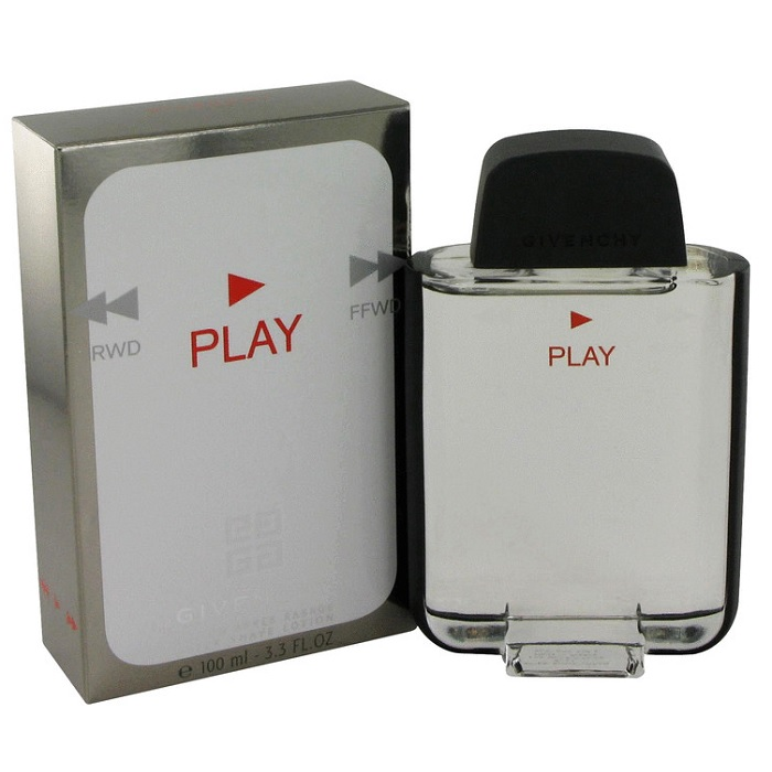 Givenchy Play Cologne by Givenchy 3.3oz Eau De Toilette spray for men