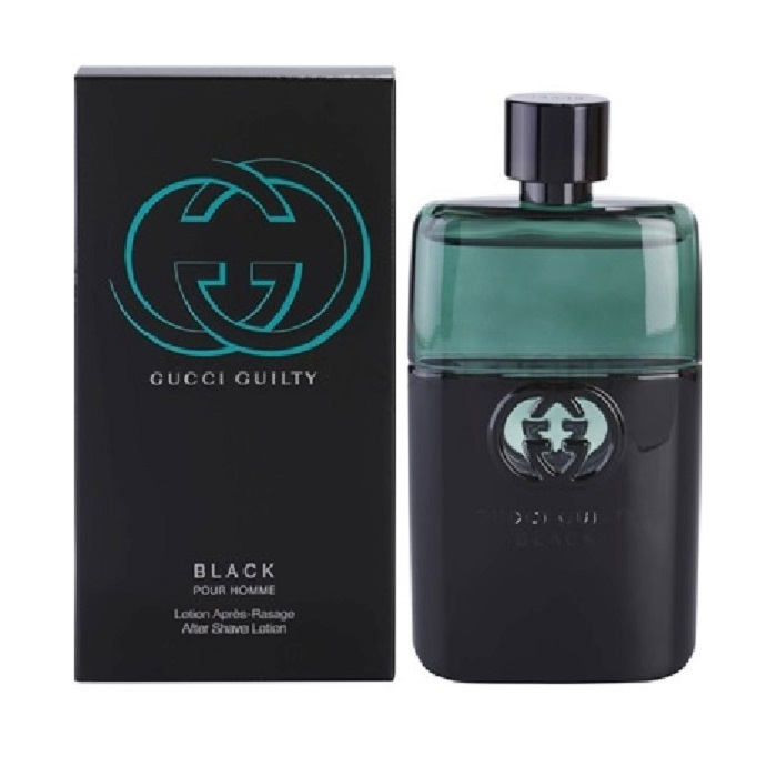 Gucci Guilty Black After Shave Lotion by Gucci 3.0oz for men