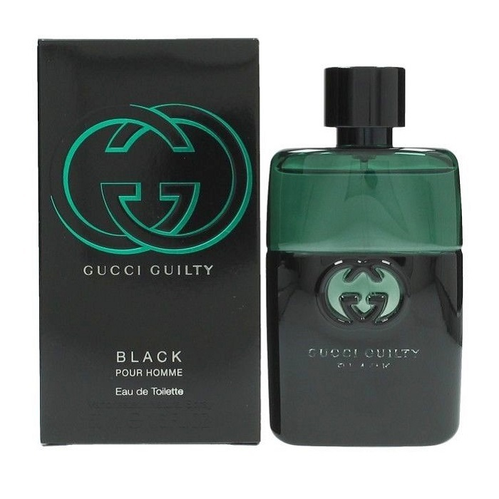 Gucci Guilty Black Cologne by Gucci 1.6oz Eau De Toilette spray for men