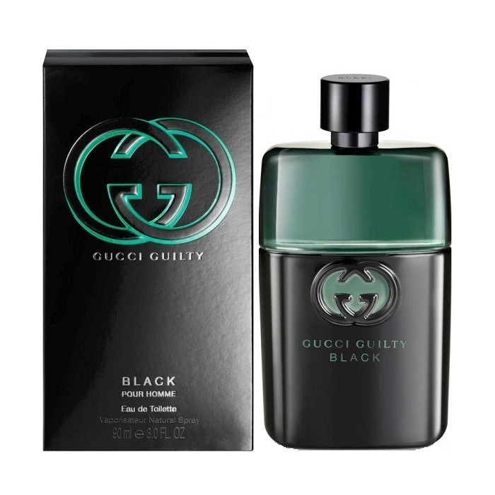 Gucci Guilty Black Cologne by Gucci 3.0oz Eau De Toilette spray for men