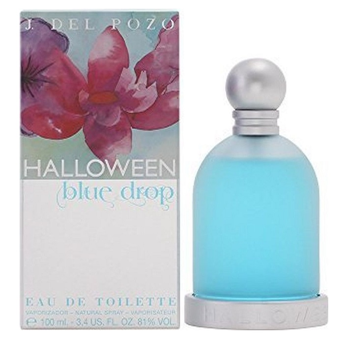Halloween Blue Drop Perfume by Jesus Del Pozo 3.4oz Eau De Toilette spray for women