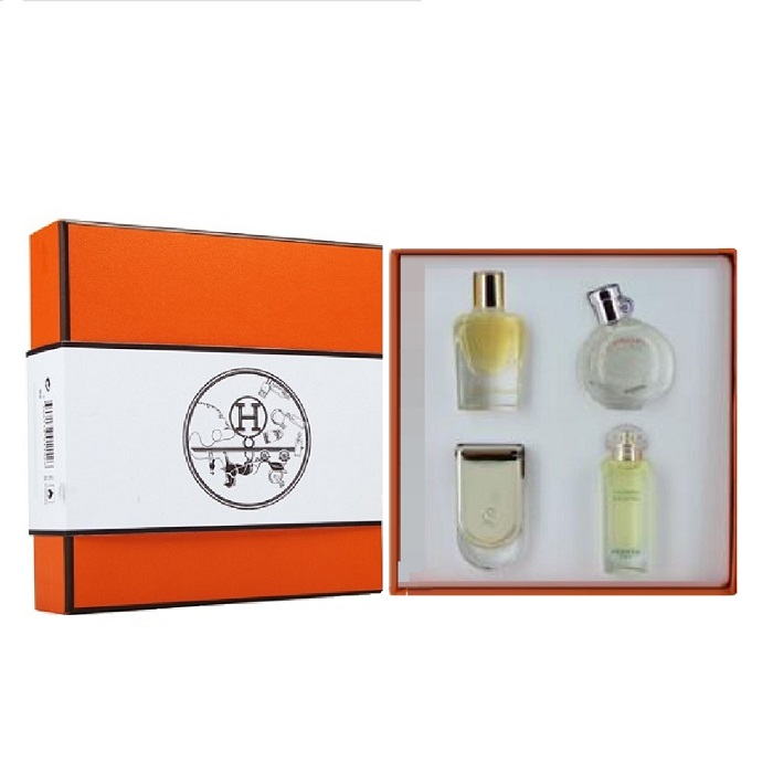 Hermes Perfume Gift Set - 4 Mini for women