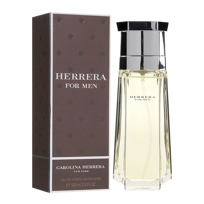 Herrera Cologne by Carolina Herrera 3.4oz Eau De Toilette spray for Men