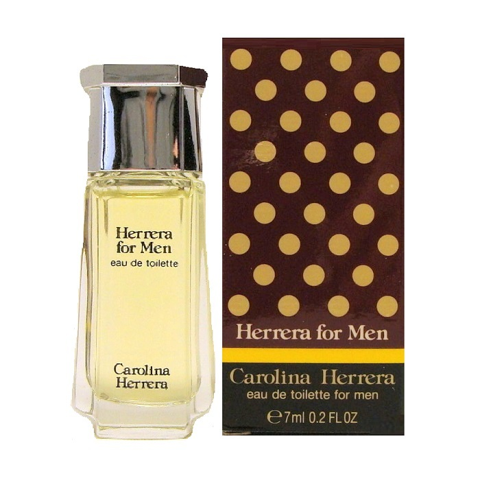 Herrera Mini Cologne by Carolina Herrera 0.2oz / 7ml Eau De Toilette for Men