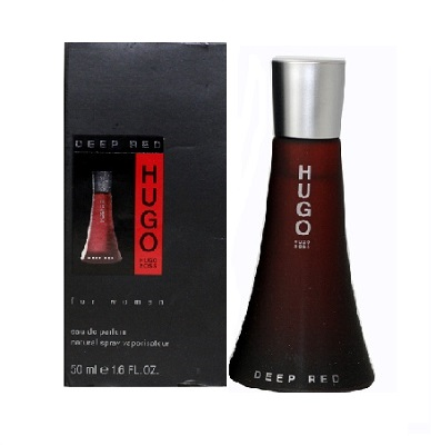 Hugo Deep Red Perfume by Hugo Boss 3.0oz Eau De Parfum spray for Women