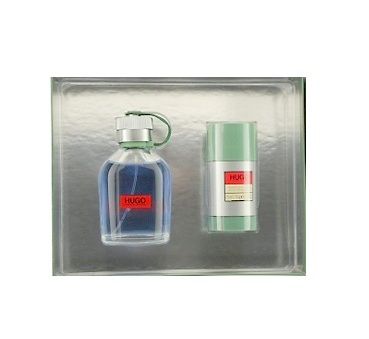 Hugo Gift Set for Men - 3.4oz Eau De Toilette spray & 2.4oz Deodorant stick