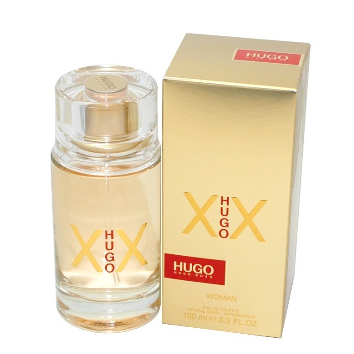 Hugo Xx Perfume by Hugo Boss 3.3oz Eau De Toilette spray for Women