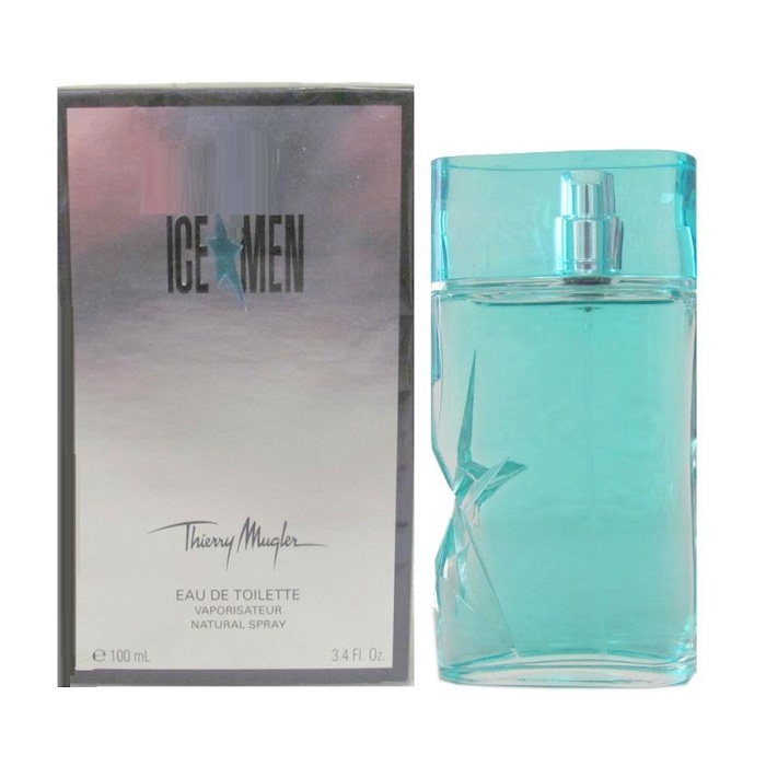 Ice Men Cologne by Thierry Mugler 3.4oz Eau De Toilette spray for Men