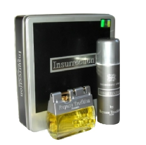 Insurrection Gift Set for men - 3.3oz Eau De Toilette spray and 6.6oz Deodorant spray