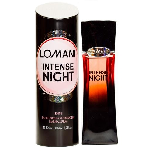 Intense Night Perfume by Lomani 3.3oz Eau De Parfum spray for women