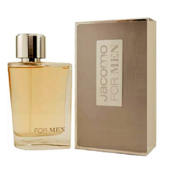 Jacomo Silver Cologne by Jacomo 3.4oz Eau De Toilette spray for men