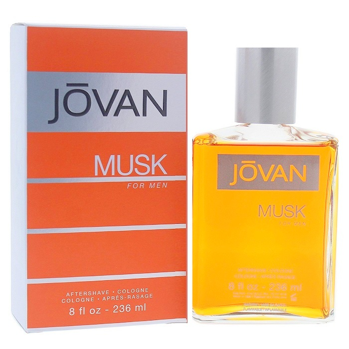 Jovan Musk After Shave / Cologne Lotion (liquid) by Jovan 8.0oz for men