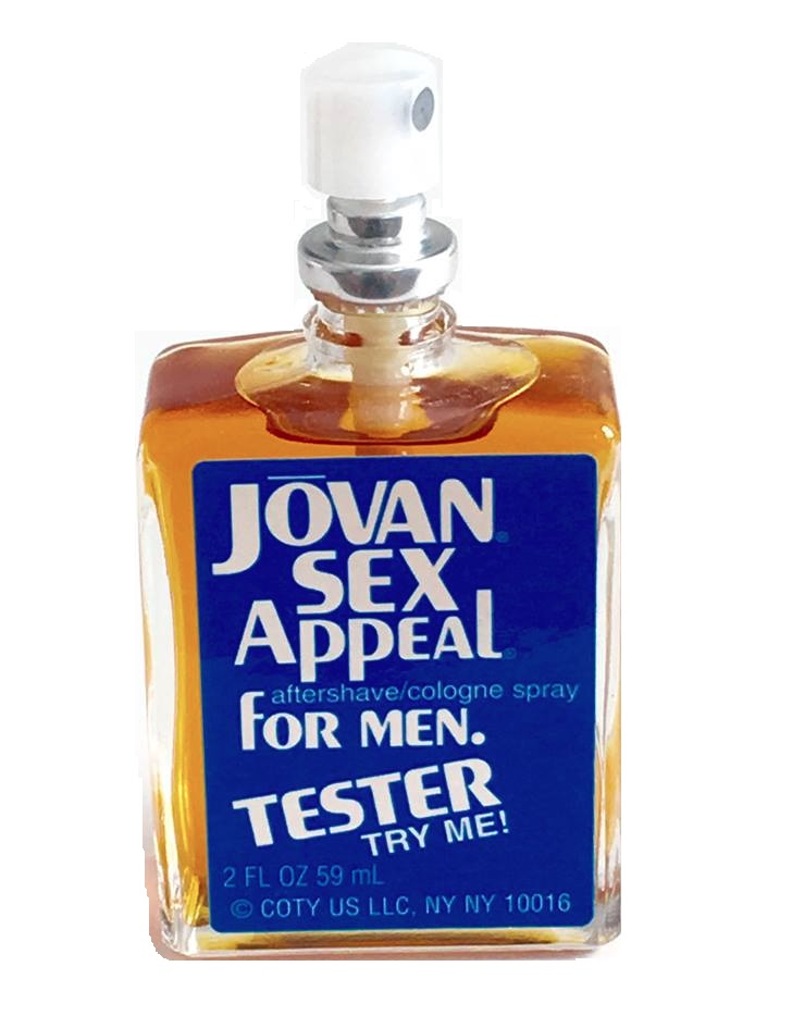 Jovan Sex Appeal After Shave / Cologne (liquid) by Jovan 2.0oz Spray for Men (tester box)