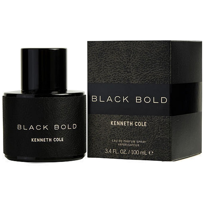 Kenneth Cole Black Bold Cologne by Kenneth Cole 3.4oz Eau De Parfum spray for men