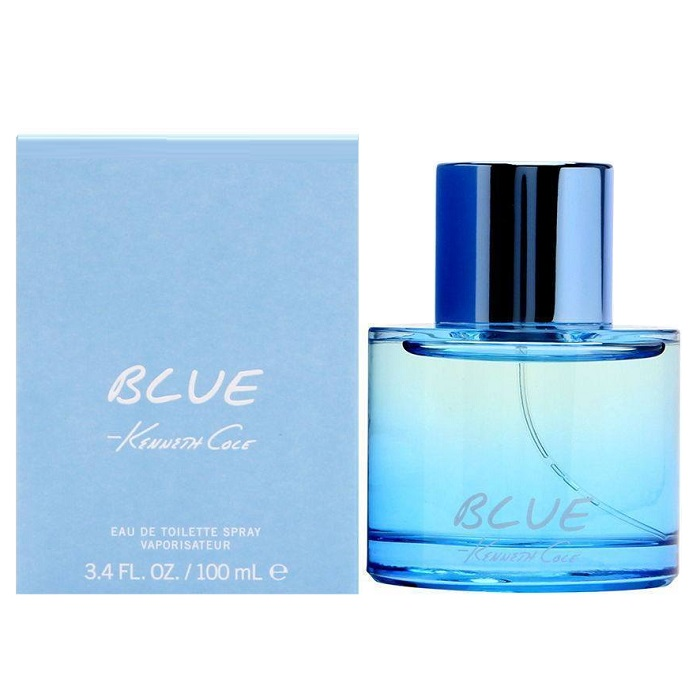 Kenneth Cole Blue Cologne by Kenneth Cole 3.4oz Eau De Toilette spray for men