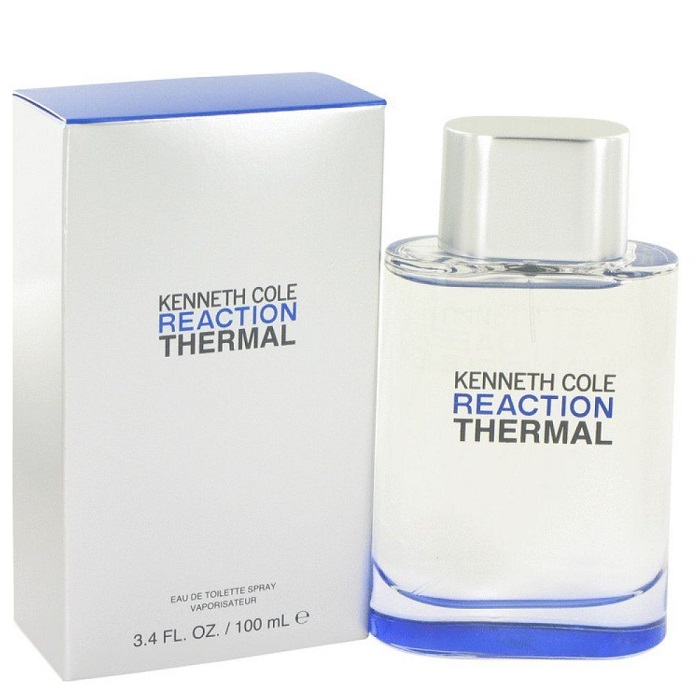Kenneth Cole Reaction Thermal Cologne by Kenneth Cole 3.4oz Eau De Toilette spray for men