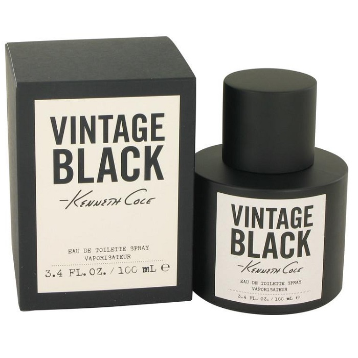 Kenneth Cole Vintage Black Cologne by Kenneth Cole 3.4oz Eau De Toilette spray for men