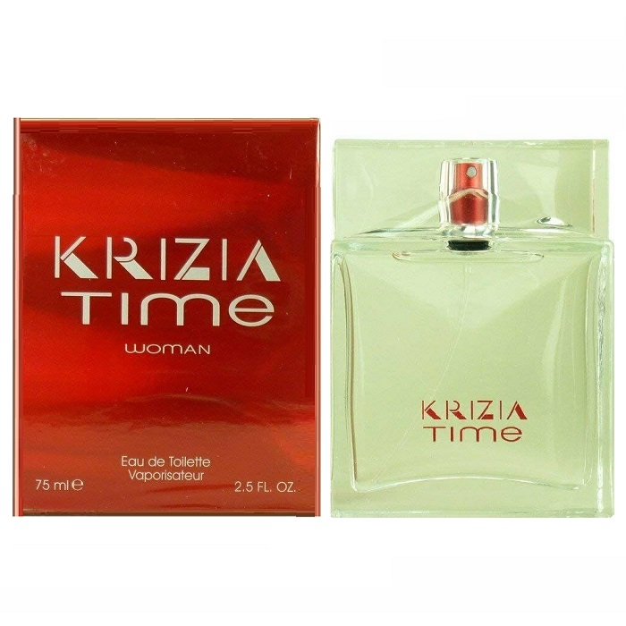 Krizia Time Perfume by Krizia 2.5oz Eau De Toilette Spray for women