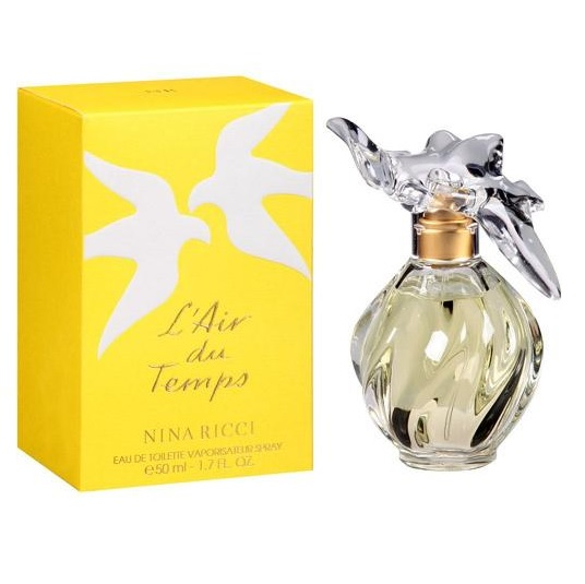 L'Air du Temps Perfume by Nina Ricci 1.7oz Eau De Toilette spray for women
